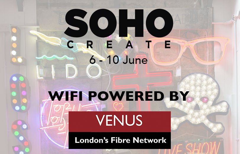 SohoCreate Wifi Powered by Venus.